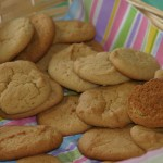 Soynut butter cookies