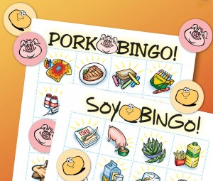 Pork and Soy Bi-Product Bingo