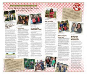 A-FAN Four Page Newspaper Insert